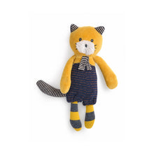 Moulin Roty - Lulu the small yellow cat Les Moustaches