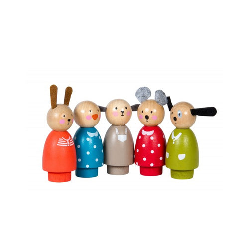 moulin roty wooden characters grande famille