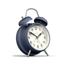 newgate Brick Lane Alarm Clock - Priceless Blue Chrome angle