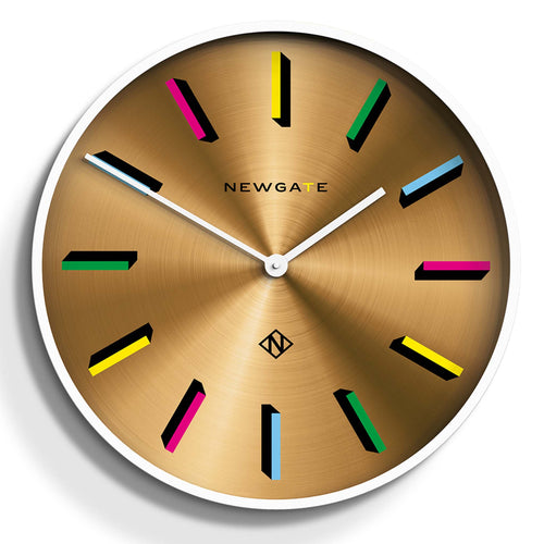 Newgate - Fancy Pants Multicolour Marker Wall Clock