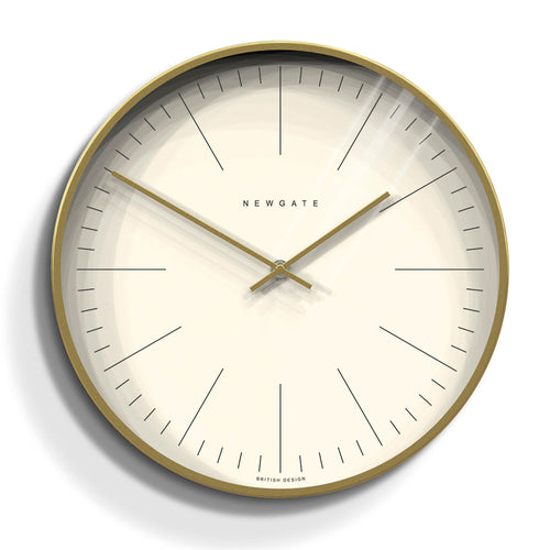 Newgate - The Oslo Clock - Radial Brass