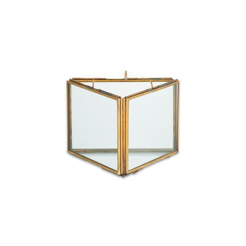 nkuku - Danta Triple Frame - Antique Brass