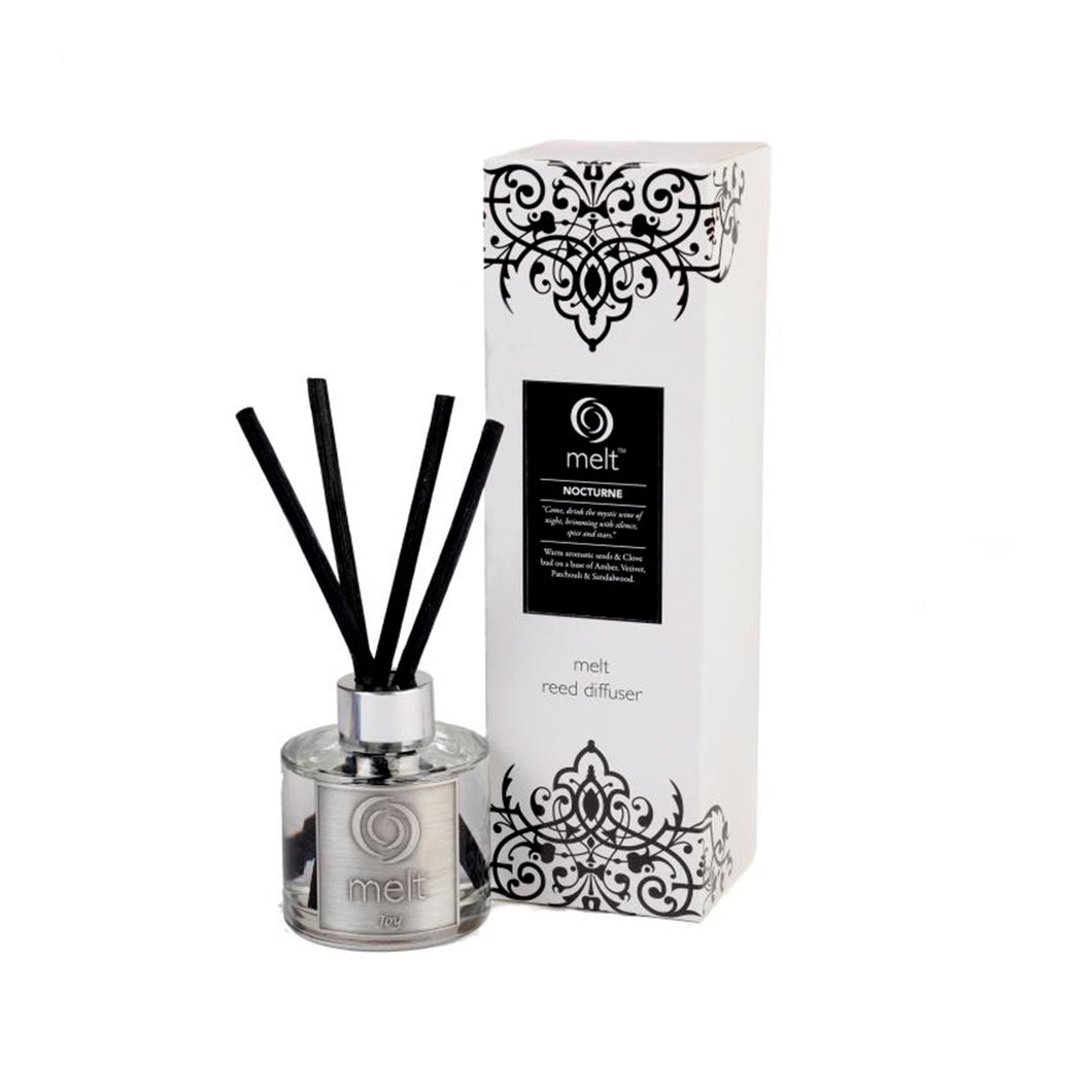 nocturne scented reed diffuser by melt