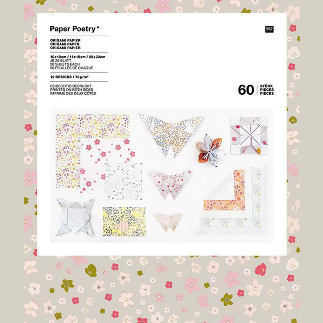 origami paper assorted