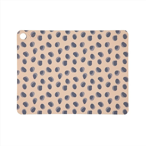OYOY - Placemat Leopard Dots - Set of 2