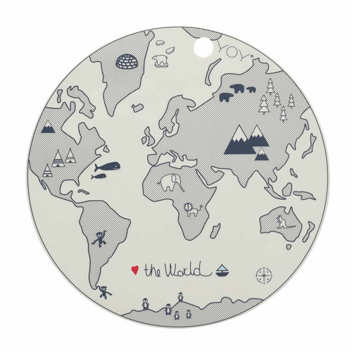 OYOY - Placemat World Map