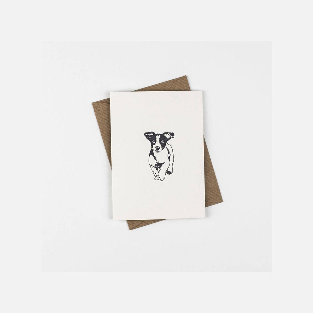 Penguin Ink - Jack Russell Mini Card