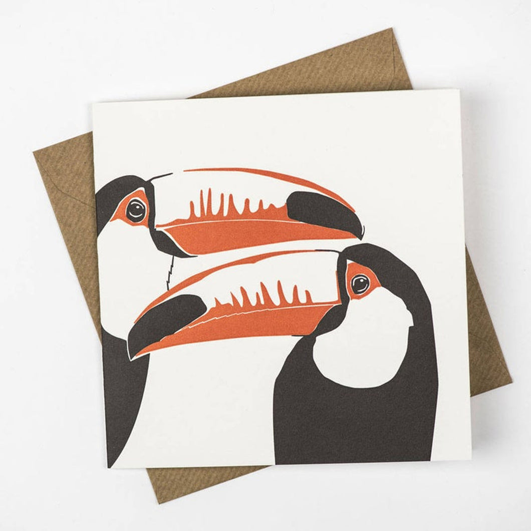Penguin Ink - Toucans in Love Card