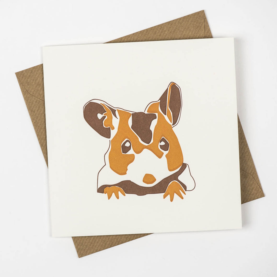 Penguin Ink - Brown Mouse Card