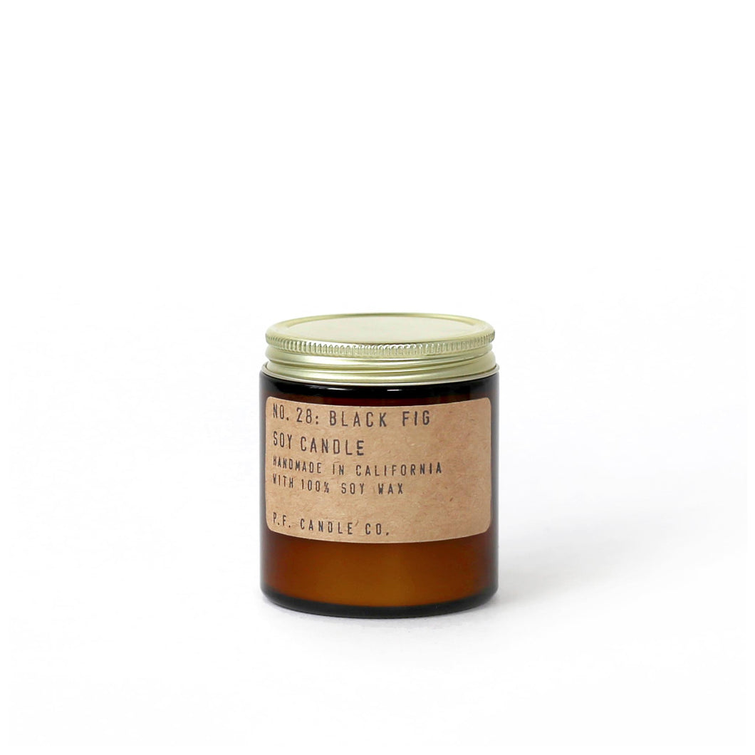 PF Candle Co - No. 28 Black Fig 3.5 oz Soy Candle