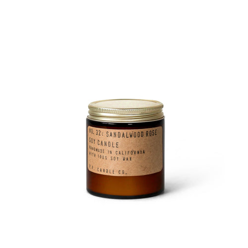 PF Candle Co - No. 32 Sandalwood Rose 3.5 oz Soy Candle