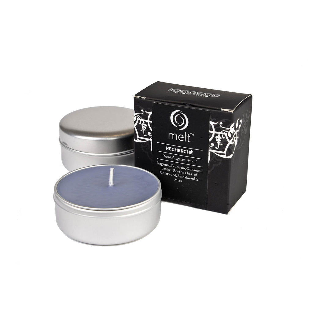 recherche scented travel candle by melt