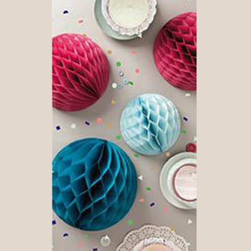 retro honeycomb decorations