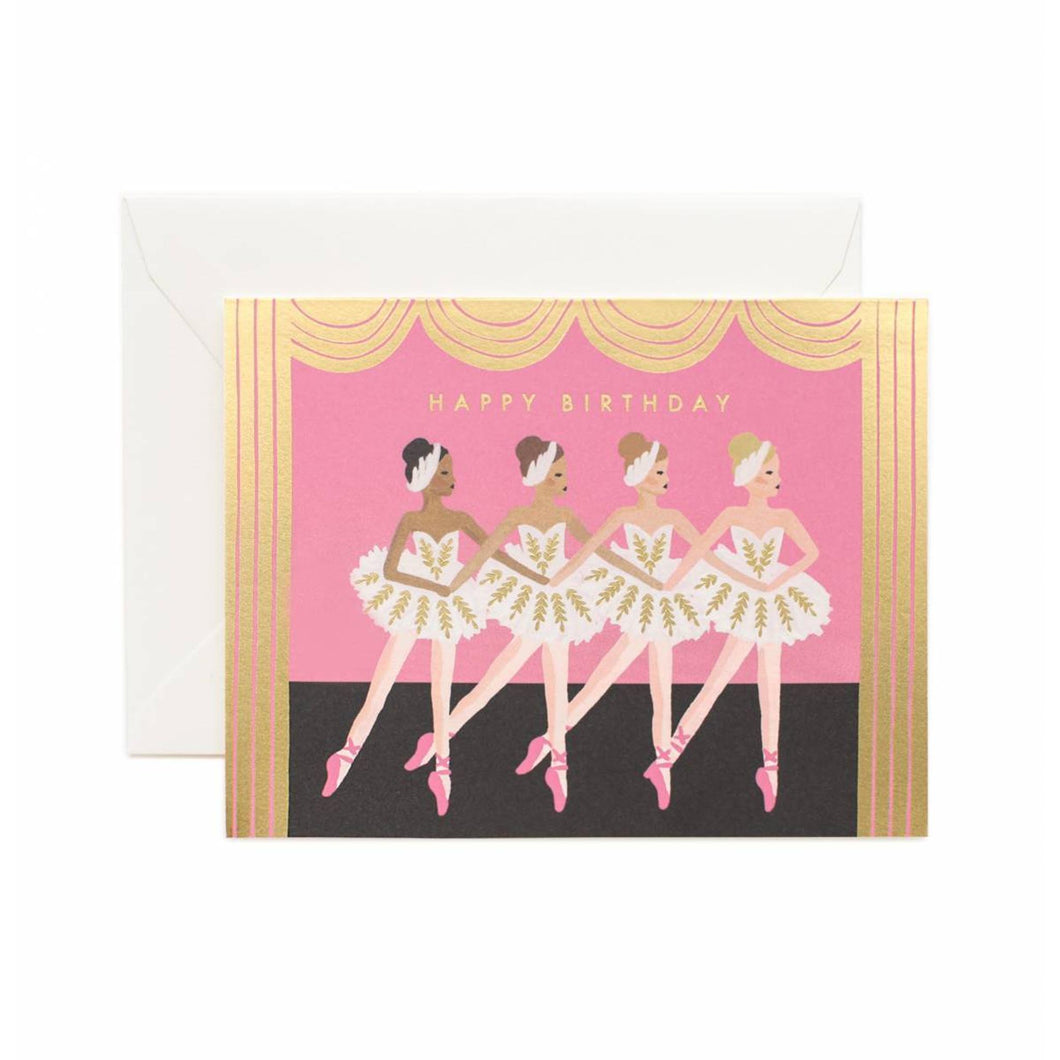Rifle Paper Co - Birthday Ballet Card