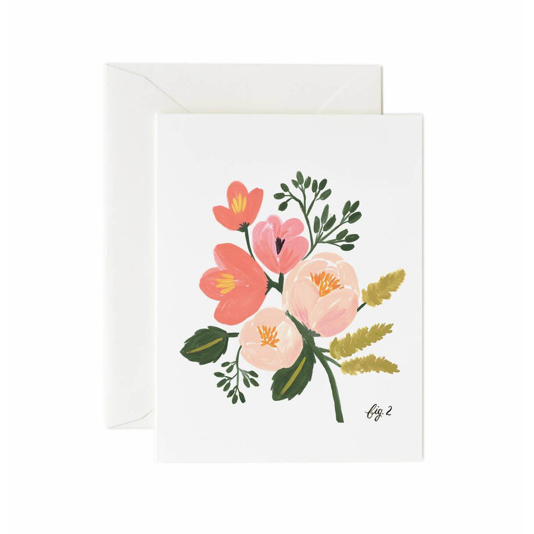 Rifle Paper Co - Peony Pink Floral Card