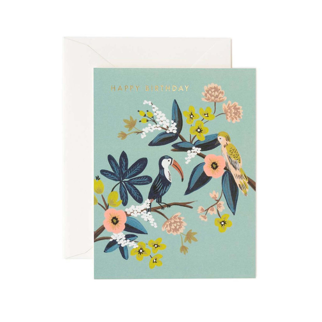 Rifle Paper Co - Toucan Birthday Card