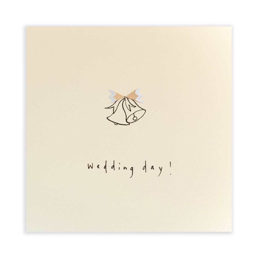 Ruth Jackson - Wedding Bells - Pencil Shavings Card