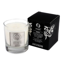 saddle scented luxury glass jar candle by melt