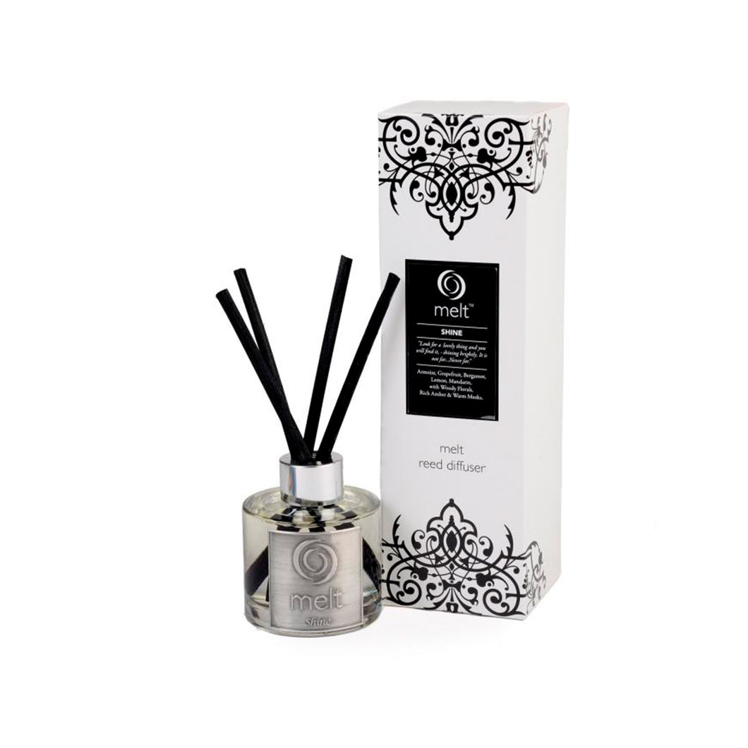 shine scented reed diffuser by melt