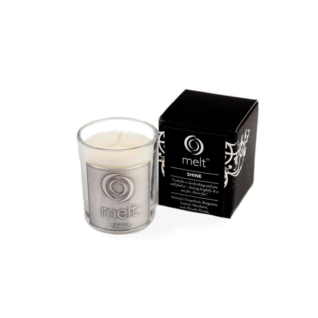 shine scented room scenter candle by melt