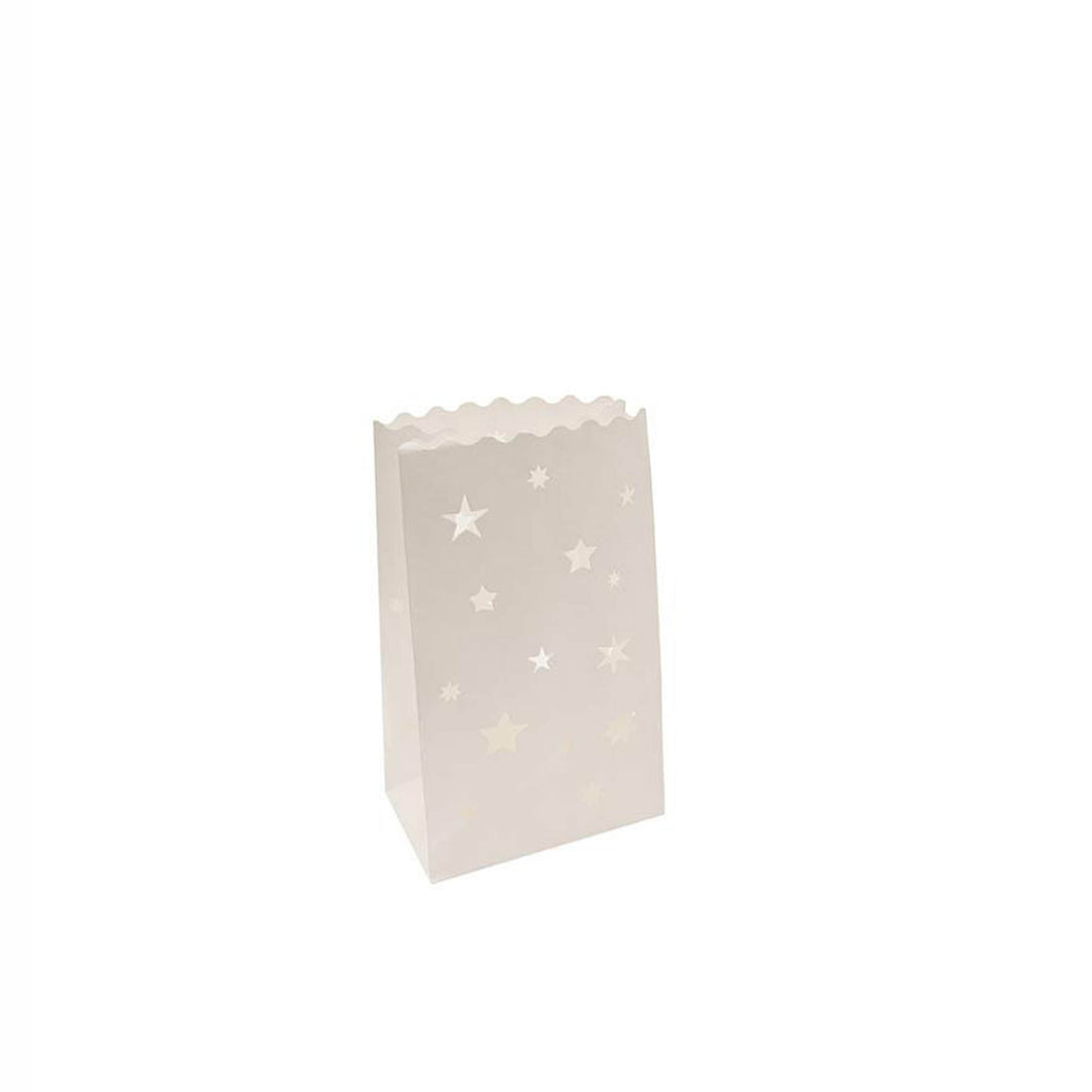 stars tea light bag