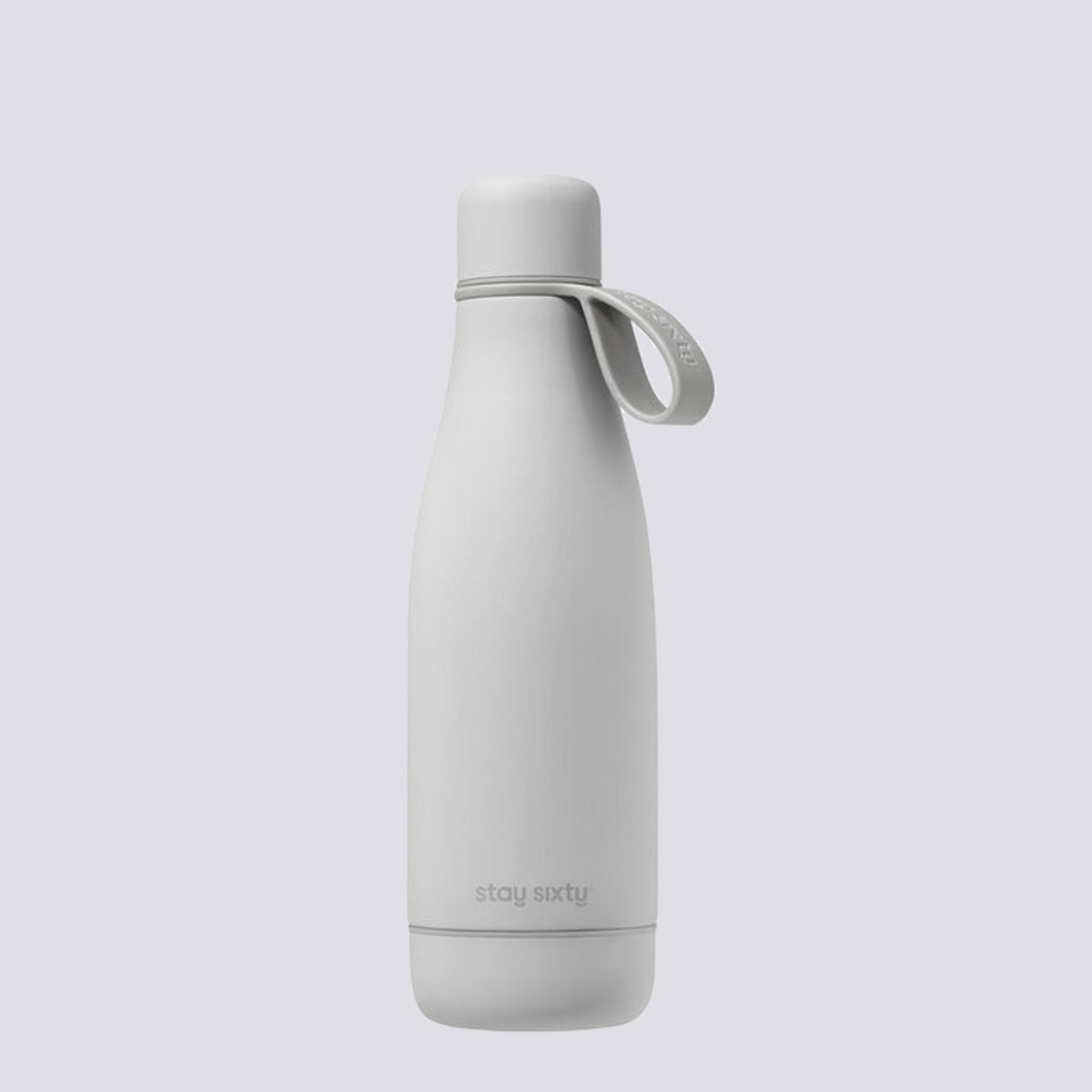 stay sixty stone grey thermal insulated bottle