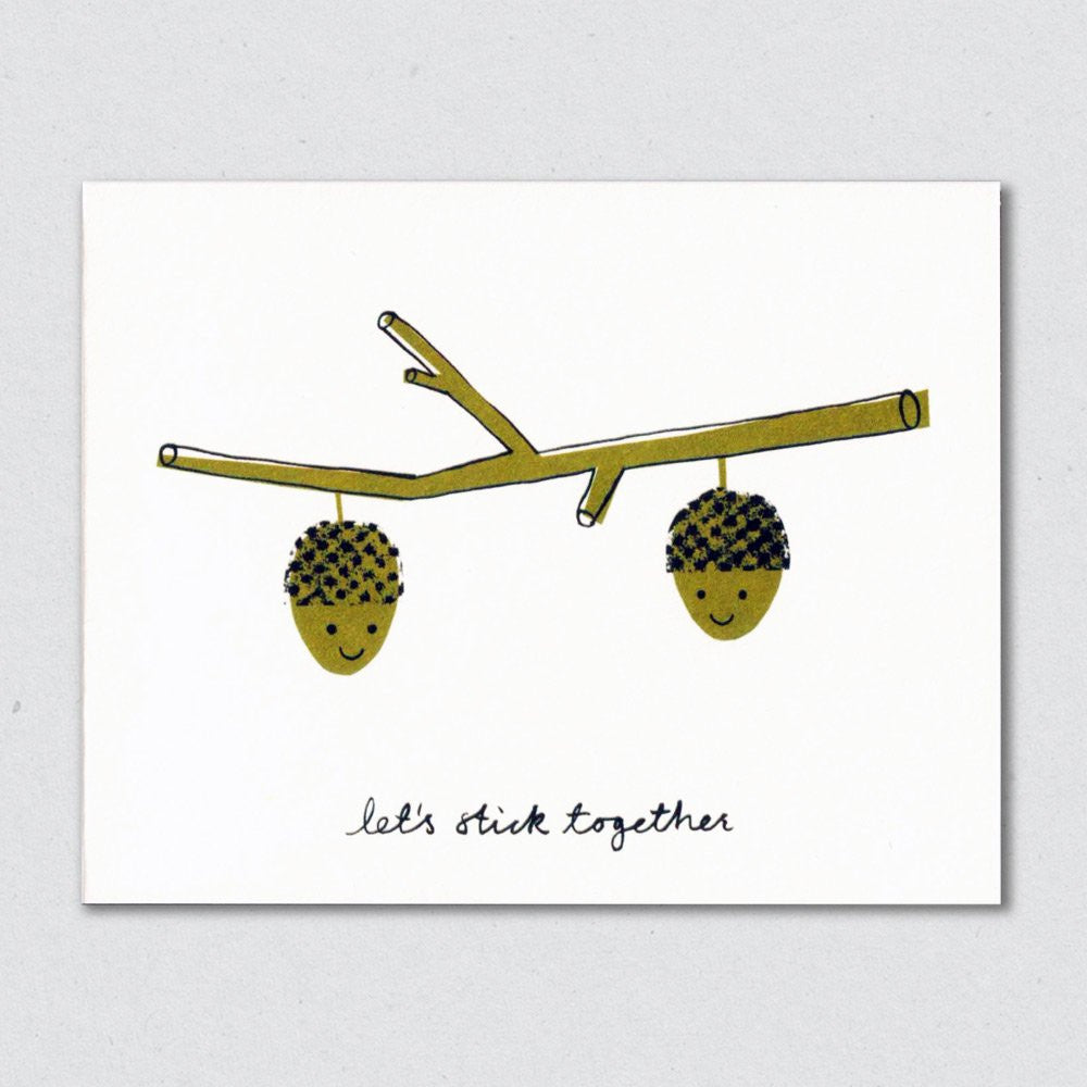 Lisa Jones Studio - Stick Together Card