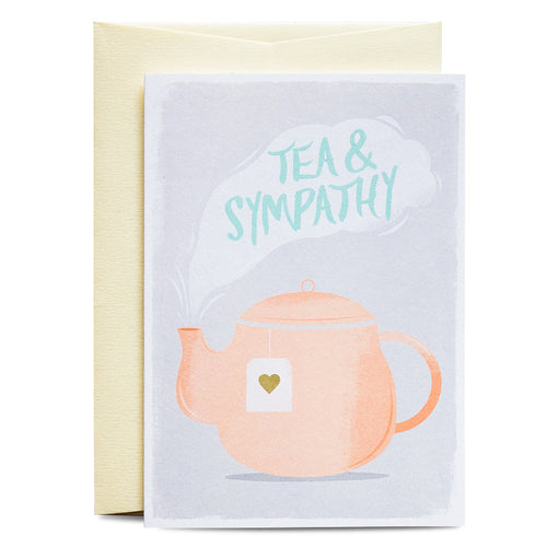 Duke & Rabbit - Tea & Sympathy Card