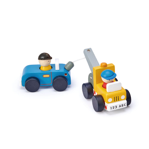 Tender Leaf Toys - Tow Truck