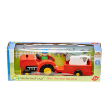 Tender Leaf Toys - Tractor And Trailer