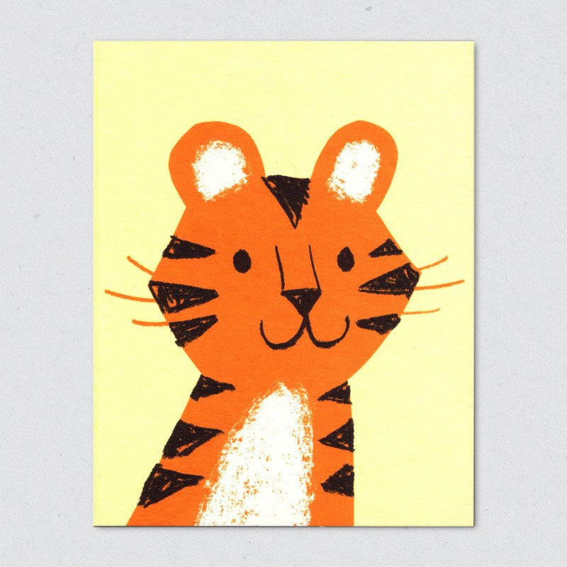 Lisa Jones Studio - Tiger Card