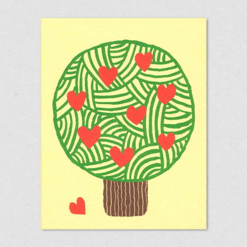 Lisa Jones Studio - Tree of Love Card