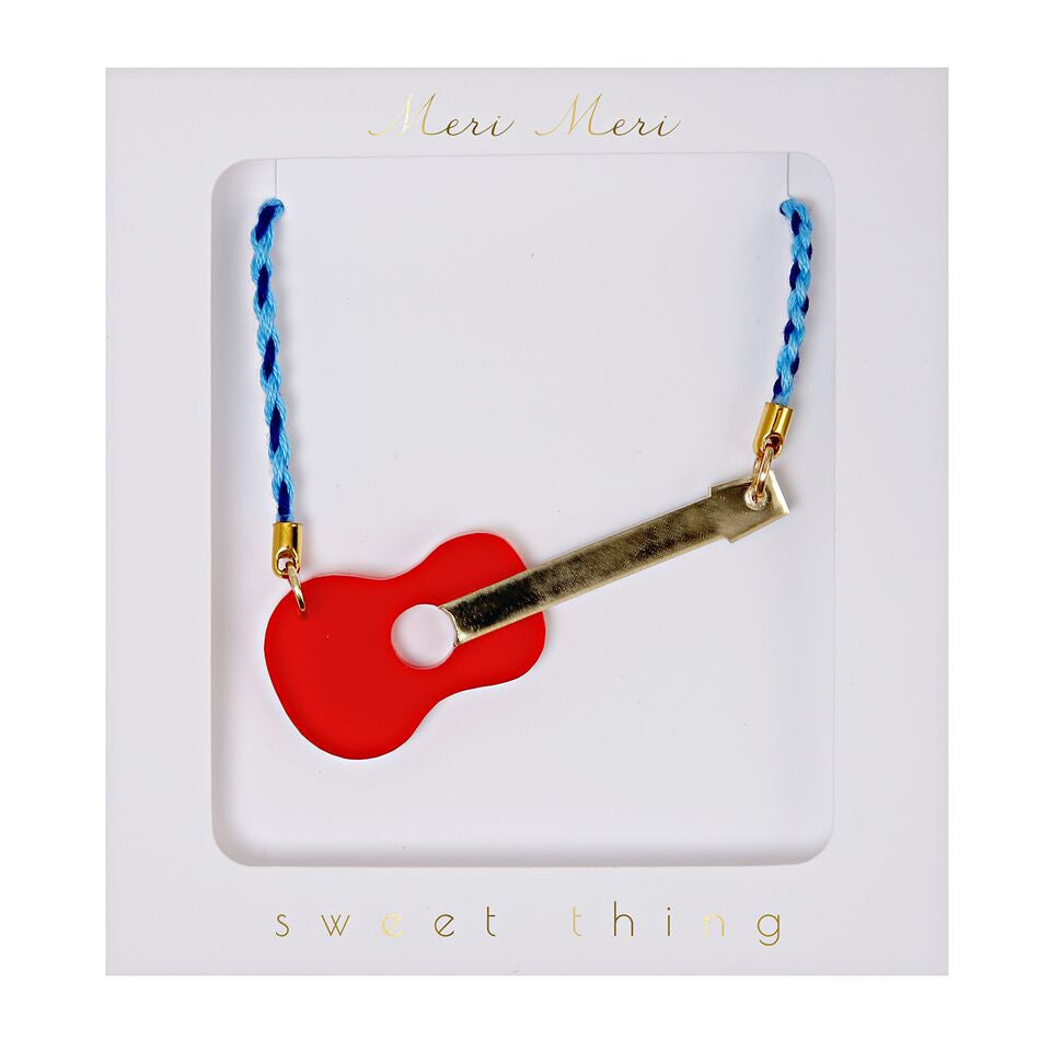 Meri Meri - Guitar Necklace
