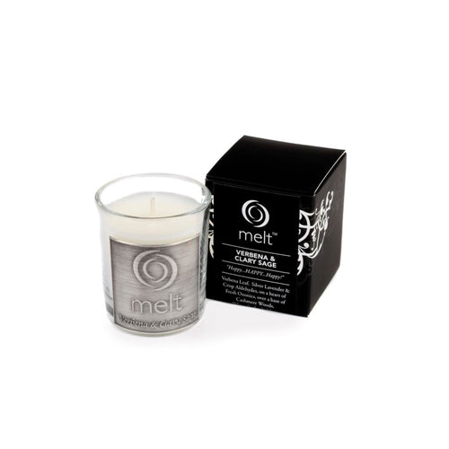 verbena clary sage room scenter candle by melt
