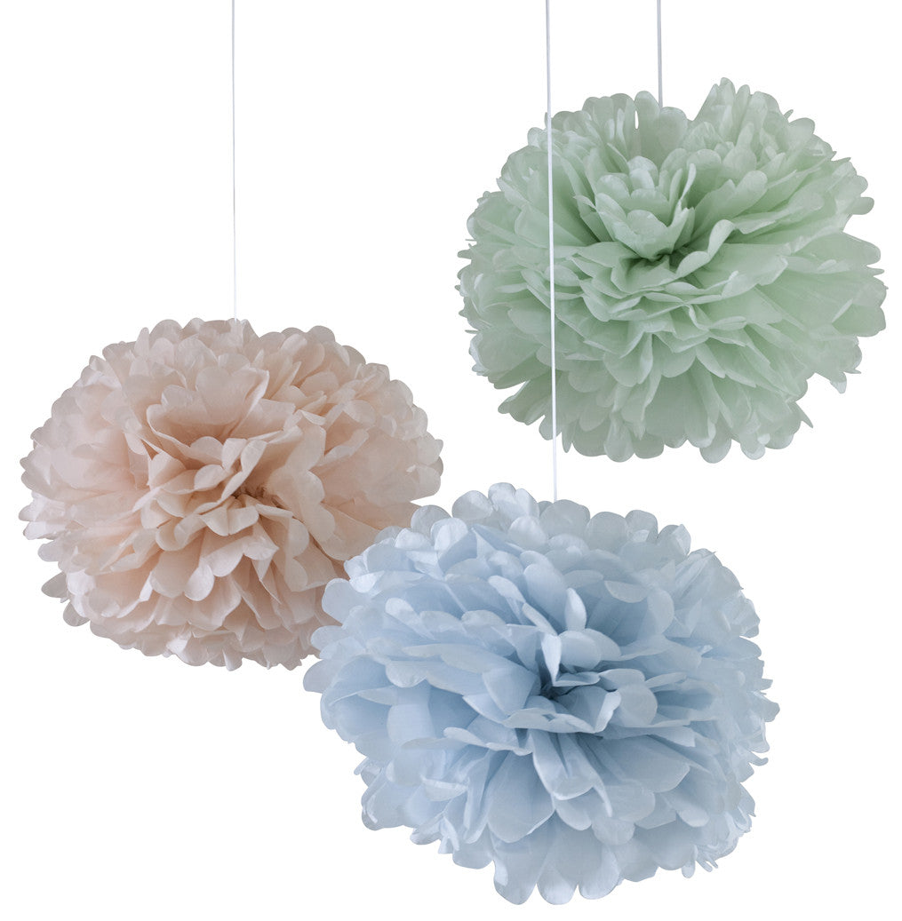 Engel - Pom pastel set of 3