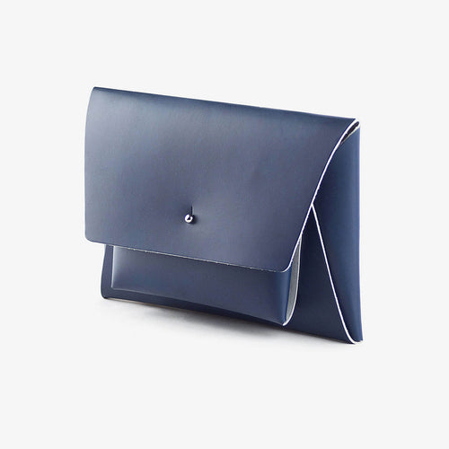 walk with me derren kangaroo wallet leather navy