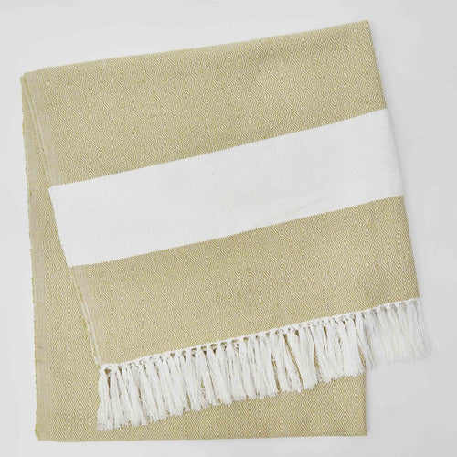 Weaver Green - Hammam Throw - Gooseberry
