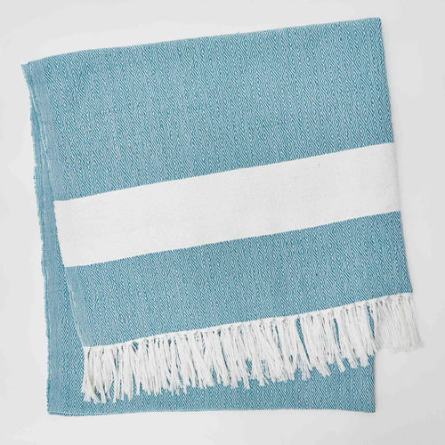 Weaver Green - Hammam Throw - Teal