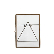 wire photo frame brass a5