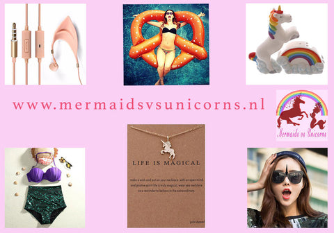 mermaids vs unicorns webshop
