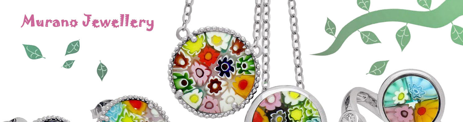 Kooqi Venetian Murano Glass Jewellery From Italy