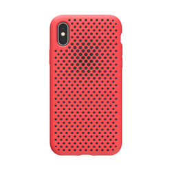 iPhone XS / X Mesh Case (BrightRed)