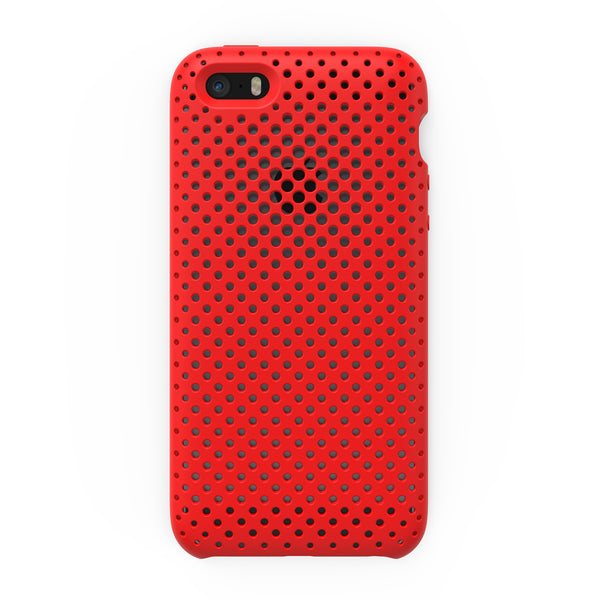 iPhone SE / 5s / 5 Mesh Case (Red)