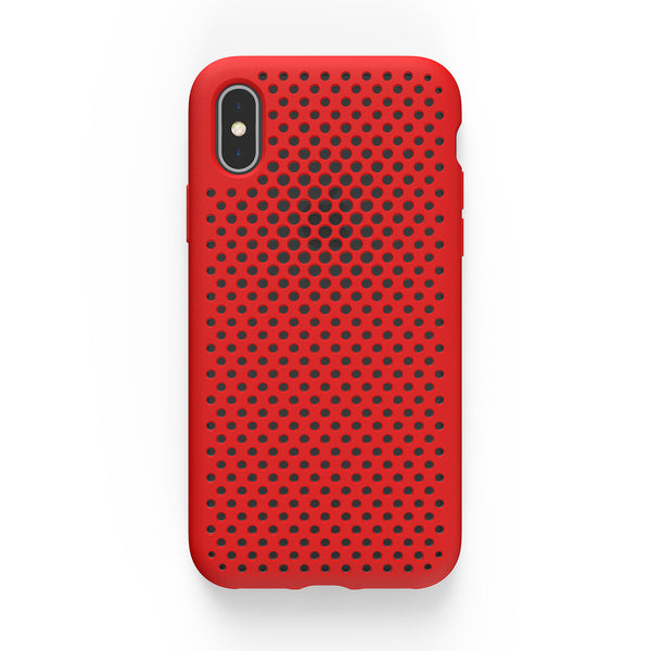 iPhone XS / X Mesh Case (Red)