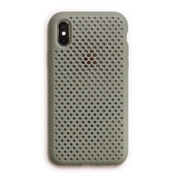 iPhone XS / X Mesh Case (ClayGreen)