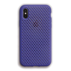 iPhone XS / X Mesh Case (NeoBlue)