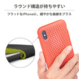 iPhone XR Mesh Case (NeoBlue)