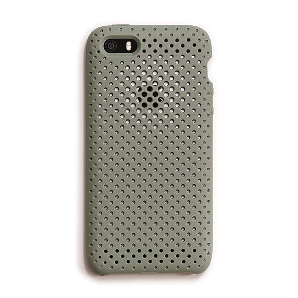 iPhone SE / 5s / 5 Mesh Case (ClayGreen)