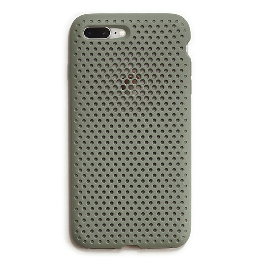 iPhone 8 Plus / 7 Plus Mesh Case(ClayGreen)