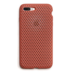 iPhone 8 Plus / 7 Plus Mesh Case(Terracotta)